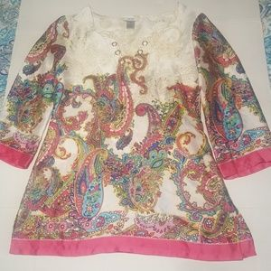 Cach'e ladies classy top size xsmall